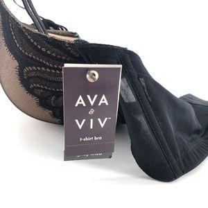 Ava & Viv Intimates & Sleepwear - Ava & Viv | Plus Size T-Shirt Bra Black